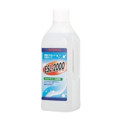 ボンマック ミルクライン洗浄剤 ESL-2000(液体タイプ)1L【UCCグループの業務用食材 個人購入可】【プロ...