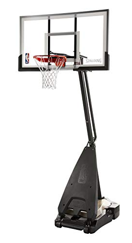 Spalding NBA Ultimate Hybrid Portable Basketball Hoop System...