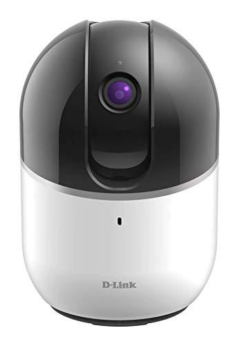 D-Link DCS-8515LH Cámara mydlink HD Wi-Fi Motorisée - HD 720p - Zoom numérico x4 - LEDs infrarouge 5m - Micrófono y Haut Parleur intégrés - Soporte mydlink APP