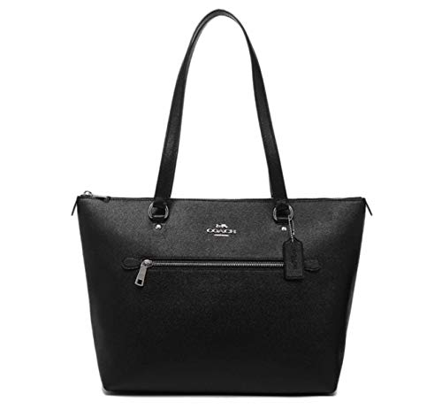 """31B qoD6L L Inside zip, cell phone and multifunction pockets Zip-top closure, fabric lining Handles with 10 1/4"""" drop"""