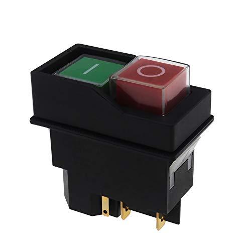 240V sur l'interrupteur électrique pour Belle IP55 pour Le mélangeur concret de Ciment Rouge et Vert