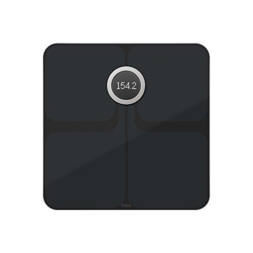 Fitbit Aria 2 Intelligente Wlan-waage, Black, One Size