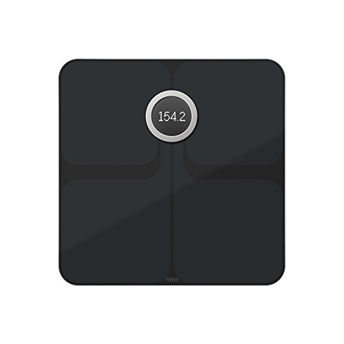 Fitbit Aria 2 Báscula Wi-Fi Inteligente, Unisex Adulto, Negro, Talla Única,...