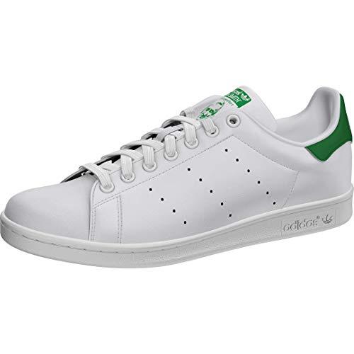 Adidas Stan Smith M20324, Zapatillas de Deporte Unisex Adulto, Blanco (Running White Footwear/Running White/Fairway), 44 2/3 EU
