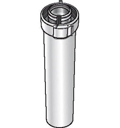 Ubbink - CONDUIT POUR CHAUDIÈRE VENTOUSE - Conduit Alu/PVC blanc UBBINK 227542 - UBBINK : 228542