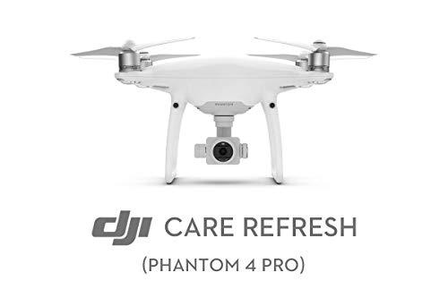 DJI Care Refresh Phantom 4 Pro/Pro+/Pro v2.0 Car Refresh Card I Assicurazione Per Drone, Copre 2 Eventi Accidentali, Garanzia Contro Danni Dell'Acqua E Cadute, Card