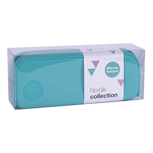 APLI Nordik Collection 18415 - Custodia in Silicone, Blu cielo