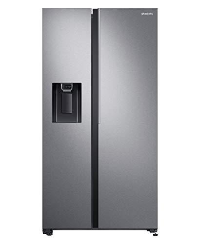 Samsung 676 L Side by Side Refrigerator (RS74R5101SL, Silver)