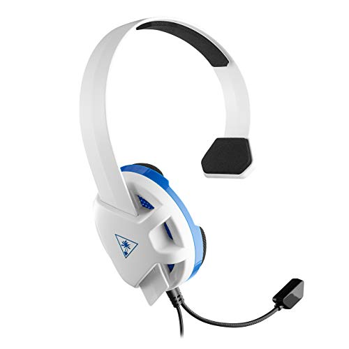 Turtle Beach Recon Chat White Gaming Headset for PS4 and PS4 Pro - PlayStation 4