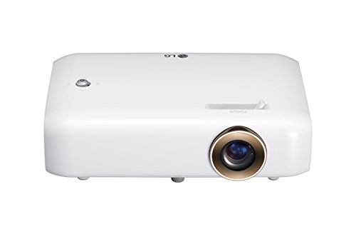 LG Electronics PH550 Minibeam Projector with Bluetooth Sound, Screen Share and Built-in Battery (2016 Model) (Renewed)