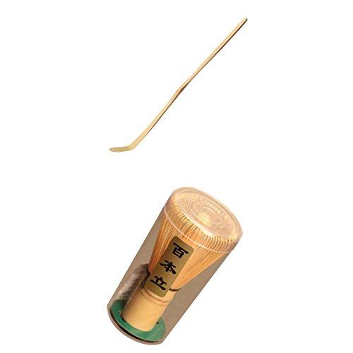 Conjunto de colheres de chá de chá com chá verde de bambu japonês homyl pack of japanese