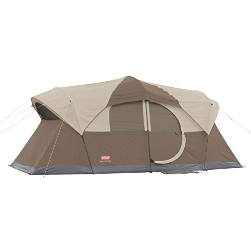 Coleman WeatherMaster 10-Person Outdoor Tent , Brown