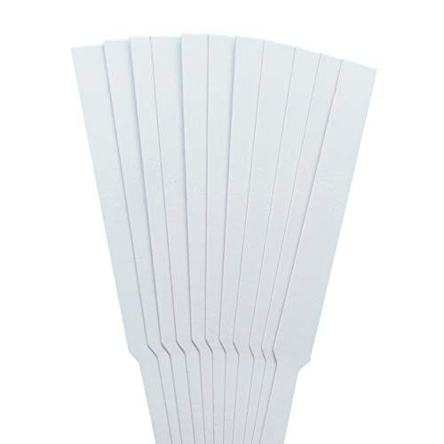 Basenpulver,ph Teststreifen,100 stücke 130x12mm Parfüm Testpapierstreifen für die Prüfung Duft Aromatherapie Ätherische Öle (Misc.)