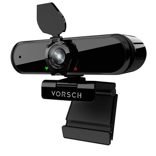 Webcam PC 1080P Full HD Camara Web Ordenador con Microfono Estéreo Portátil con Cubierta de Privacidad Reducción de Ruido,Disparo Gran Angular de 110 °,Videollamadas, cursos en línea, conferencias