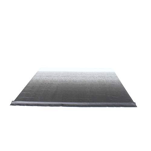 ALEKO RVFAB8X8BLK11 RV Awning Fabric Replacement 8 x 8 Feet Black...