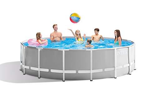 Intex Round Prism Frame Pool Set | 15ft x 48' | 26725EH model