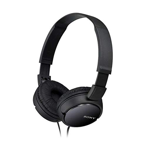 Sony MDR-ZX110 Cuffie On-Ear, Nero