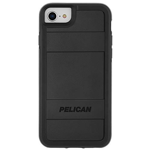 Pelican - iPhone SE (2020) Case - iPhone 8 Case - Protector Series - Military Drop Protection - 4.7' - Black