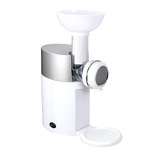 Street27® Electric Ice Cream Maker Soft Serve Machine EU DIY 600ml Detachable White