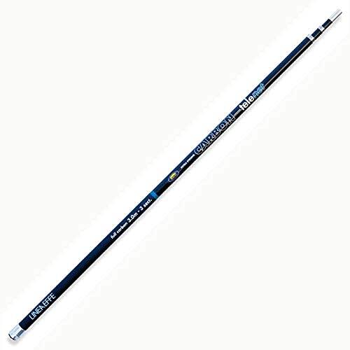 Lineaeffe Manico per Guadino da Pesca Carbon Telenet 5 m Attacco Universale per Mare Trota Lago Pesca dalla Barca Pesca a Colpo e Bolognese
