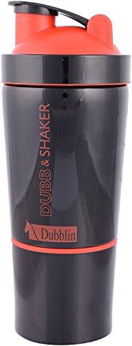 Srishti Trading Dublin Durosteel Stainless Steel Shaker, 750 Ml (Red+Black color)