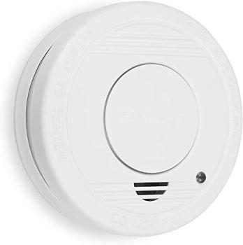 Smartwares 10.044.62 Détecteur de fumée RM250 – Pile 1 an – Bouton de Test – 85 DB, Blanc, taille 4