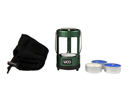 UCO Unisex Mini Eloxiertes Kerzenlampen-Set, grün, Einheitsgröße