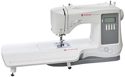 Maquina de Costura Eletrônica Confidence 7640 Bivolt, Singer, Branco, Médio