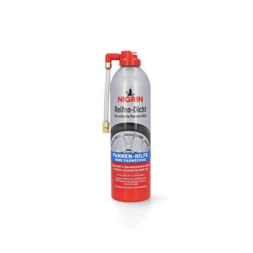 NIGRIN 74074 Reifendicht, sofortige Pannenhilfe, 500 ml