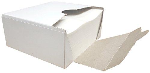 R&J Square Wax Paper Sheets - Hamburger Patty Paper Squares (1,000 Sheets)