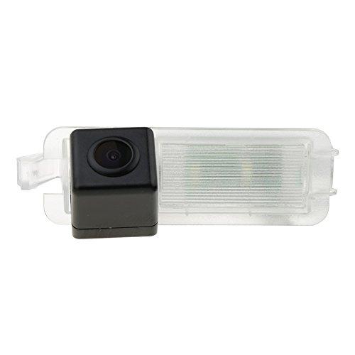 HD 720p Telecamera di Retromarcia Retrocamera Telecamera Posteriore con linee guida per Jeep Compass 2017 2018 2019 MP/552