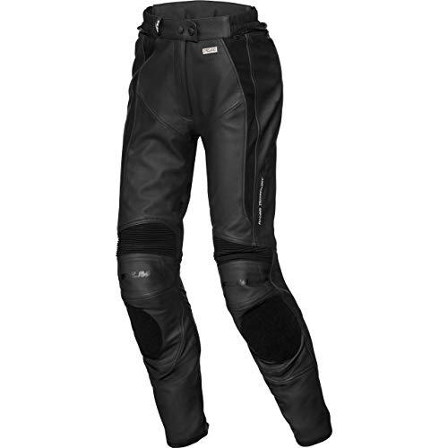 FLM Kombihose Lederkombi Motorradhose mit Protektoren Sports Damen Lederkombihose 2.1 schwarz 44, Sportler, Ganzjährig
