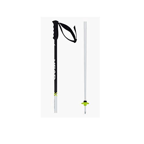 HEAD Worldcup SL - Bastoni da sci unisex, colore: Bianco, bianco, 120