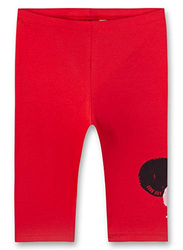 Sanetta Capri Leggings, Rosso (Fresh Strawberry 3904), 122 Bambina