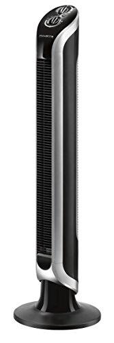 Rowenta Eole Infinite VU6620, Standventilator, Säulenventilator, Oszillation 40W Schwarz, 40 W, 240 V
