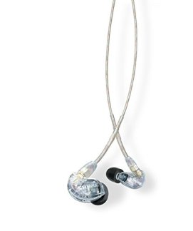 Shure SE215-CL Sound Isolating Earphones with Single Dynamic MicroDriver