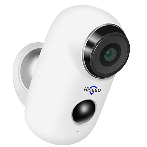 Wireless Rechargeable Battery Powered WiFi Camera, Home Security Camera, Night Vision, Indoor/Outdoor, 1080P Video with Motion Detection, 2-Way Audio, Waterproof, Cloud Storage