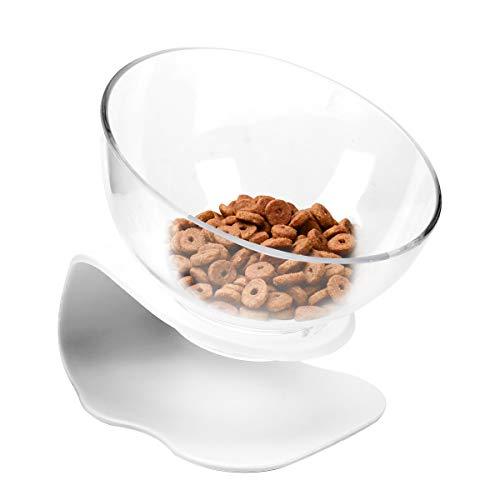 Dopet 猫&犬食器 猫ボウル ペット食器 スタンド 猫皿 食器スタンド フードボウル ペット皿 猫用食器 ボウル...