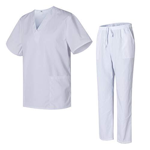 Uniformes Uno Médico Unisex con Casaca y Pantalones Sanitar