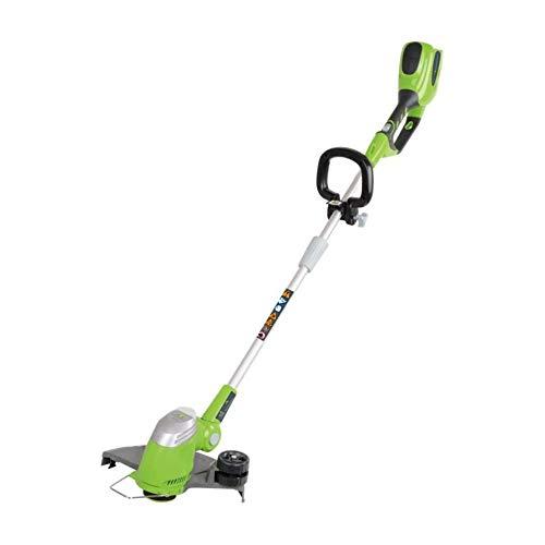 Greenworks Tools 21107 Decespugliatore a Batteria, 40 V, Verde, Nero, Grigio