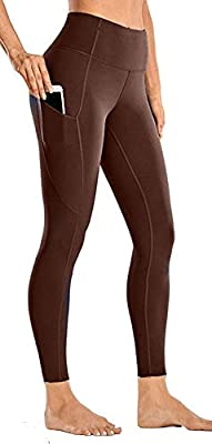 Leggings with Secure Pocket - With 2 pockets on each leg.Our Hi Clasmix Workout Leggings can hold your phone, keys or other essentials so you can focus on your activity. In addition, a gusset crotch supports free movement and interlock seams minimize...