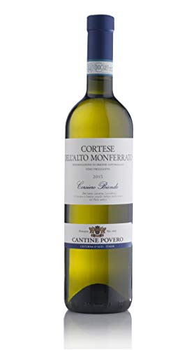 Cantine Povero - Cortese dell'Alto Monferrato DOC Frizzante'Corsiero Biondo' (scatola da 12 bottiglie da 0,75 lt)
