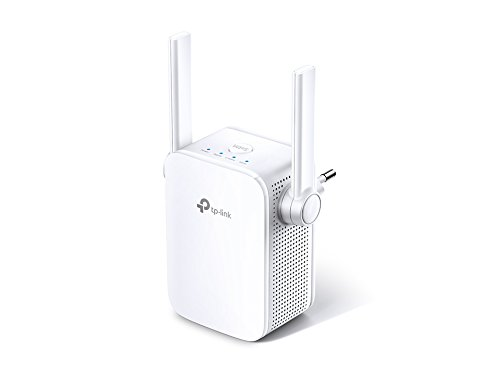 TP-Link Ripetitore WiFi Wireless, Velocità Dual Band AC1200, WiFi Extender e Access Point, Compatibile con Modem Fibra e ADSL, fino a 1.2Gbps (RE305), Bianco