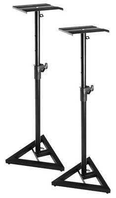 On Stage SMS6000 Adjustable Monitor Stands (Pair)