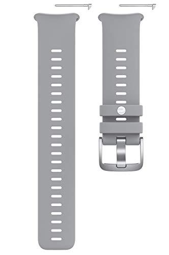 Polar Vantage V2, Cinturino Intercambiabile per Orologio Sportivo Unisex Adulto, Grigio-Lime, S-L