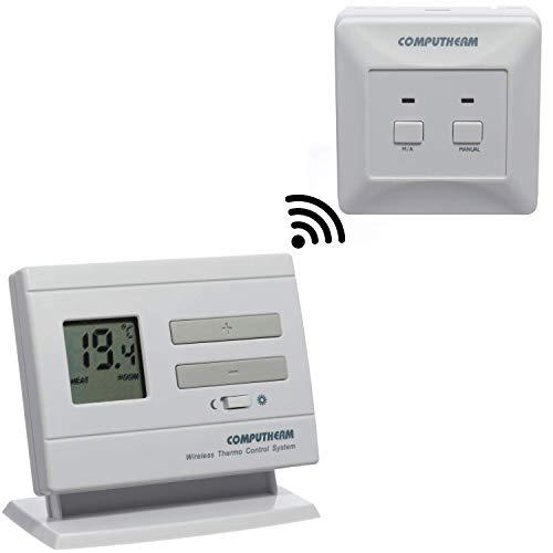 COMPUTHERM Q3RF Thermostat sans fil, thermostat d'ambiance pour radiateur, climatisation, chauffage au sol, régulateur de température avec récepteur