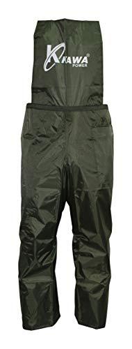 Kawapower KW261 Pantaloni di Protezione decespugliatore, Verde Scuro