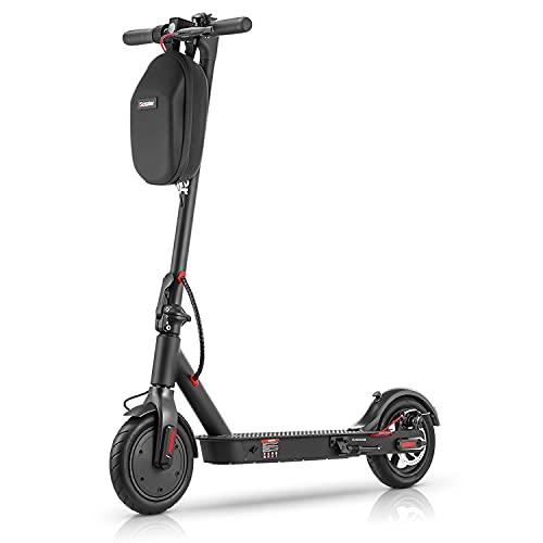 iScooter Patinete Eléctrico i9P - Velocidad 25 km/h, hasta 25 km de Largo Alcanc, Plegable Patinete Electrico Adultos 350W Motor, Control de Crucero, Soporta hasta 120kg