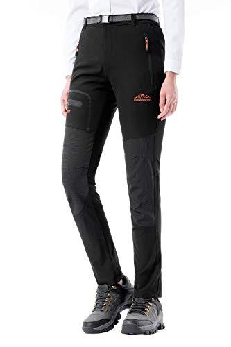 DAFENP Pantalon Randonnee Femme Imperméable Pantalon de Travail Cargo...