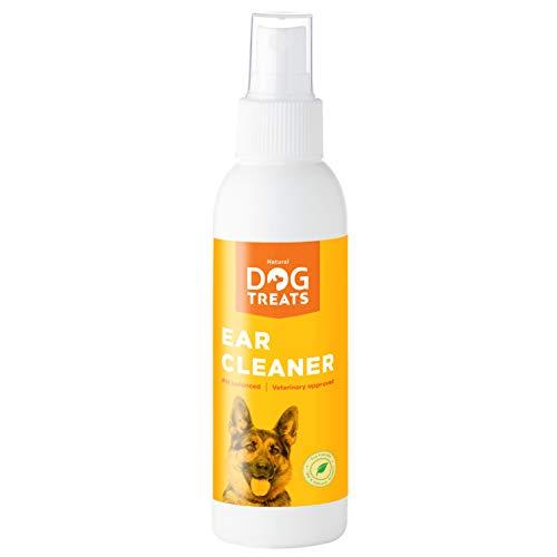 Natural Dog Treats Limpiador de Oidos para Perros, Gatas De Orejas...